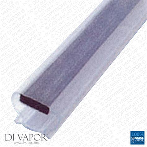 Shower Door Seal Replacement Di Vapor R Magnetic Shower Door Replacement Seal 6mm Channel 200cm Push On Ebay