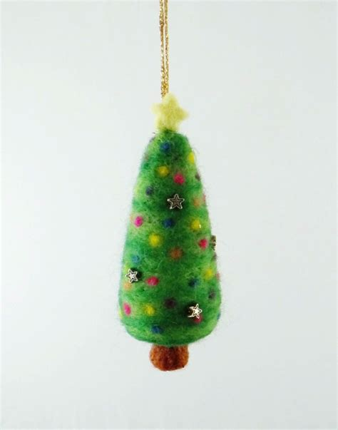 needle felted christmas decorations living felt blog