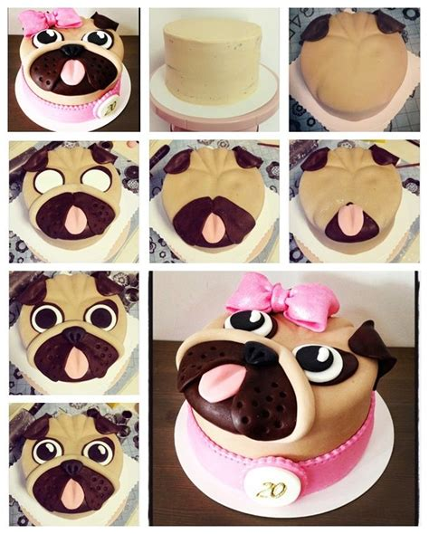 pug tutorial 25 best ideas about pug cake on pug birthday cake pug cupcakes and cakes