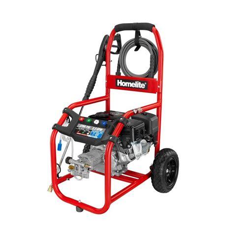 homelite 2700 psi 2 3 gpm gas pressure washer ut80522g