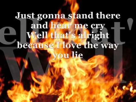 lying is the best part lyrics i love the way you lie part 2 clean lyrics eminem feat