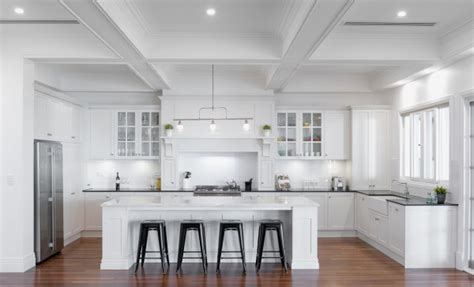 White Kitchen Island Granite Top by Defining Your Traditional Style The Kitchen Design Centre