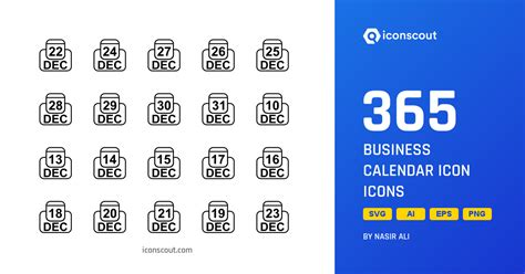 business calendar icon icon pack   svg png eps ai icon fonts