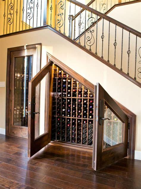stairs wine cellars  wine storage spaces