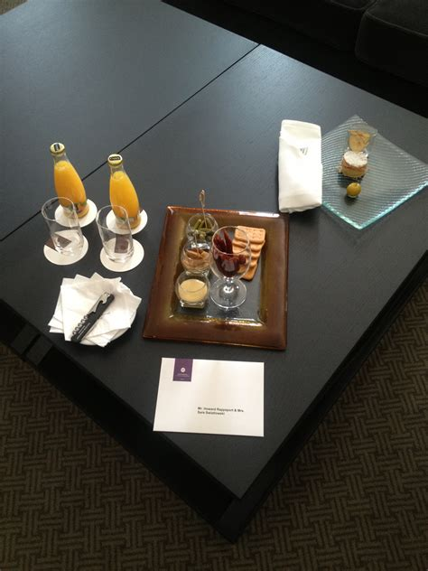 Hotel Gift Cards Reviews - hotel bristol warsaw welcome gift frugal travel guy