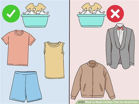 How To Wash Color Clothes by How To Wash Clothes That Are Brand New With Pictures