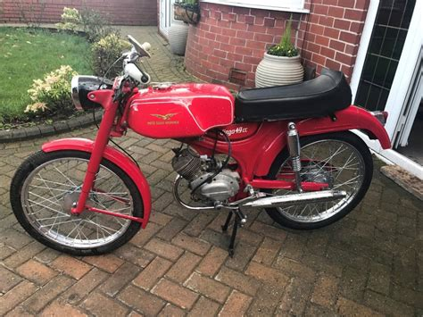 dingo motorcycle moto guzzi dingo sports moped 1964 restored classic