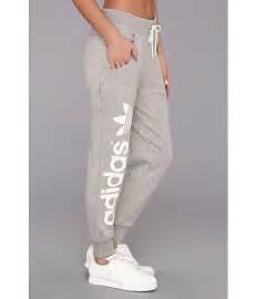 adidas originals originals baggy track pant medium grey