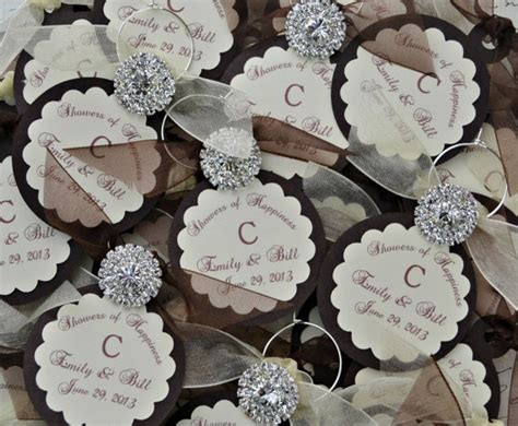 layout for wedding giveaways wedding wine charm favors customized personalized by