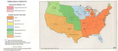 map of us states that belonged to mexico file usa territorial growth 1840 jpg wikimedia commons
