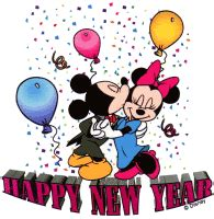 happy  year mickey mouse happy  year  mickey  minnie photo