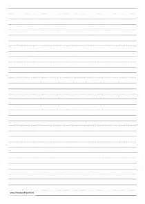 A4 Writing Paper A4 Writing Paper Template A4 Paper Printable Paper