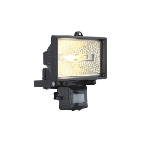 88815 Alega Outdoor Aluminium Sensor Security Light In Outdoor Security Lights Uk