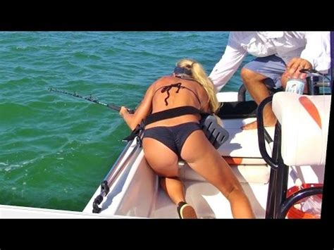 offshore boat fails best fishing fail video big shark tries to pull girl