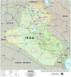 map for iraq nationmaster maps of iraq 76 in total