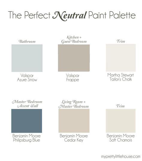 the neutral paint palette benjamin cedar
