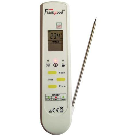 thermometre cuisine sonde thermom 232 tre alimentaire infra et sonde flashfood