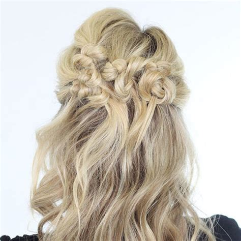 prom hairstyles for medium length hair with braids our favorite prom hairstyles for medium length hair more com