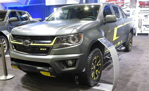 truck shows in colorado chevy colorado shows its lifestyle side at sema