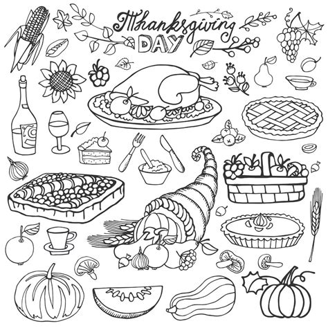 thanksgiving coloring pages for adults thanksgiving cornucopia and turkey thanksgiving