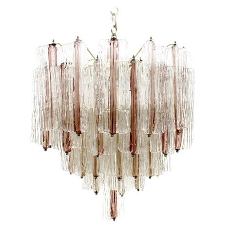 Hanging From A Chandelier Two Tone Murano Chandelier Hanging L From The Sixties By Toni Zuccheri For Venini 63760