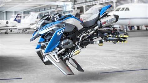 bmw unveils flying motorbike based  lego
