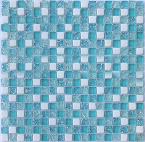 blue mosaic tile crackle glass mosaic tile backsplash blue mosaic stone