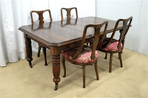 antique table and chairs dining table chairs antiques atlas