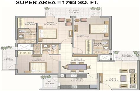 1763 sq ft 3 bhk 3t apartment for sale in corona optus