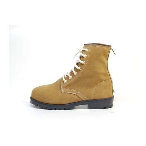 s toe suede combat sole back tap ankle boots