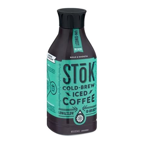 Stok Terbatas 1 4 Inch To 1 4 Inch For stok cold brew iced coffee 48 oz only 2 99 value 4 49 at shaw s 쿠폰 아줌마 닷 컴