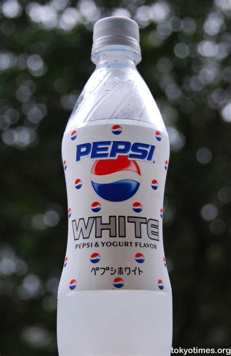 new pepsi white tokyo times