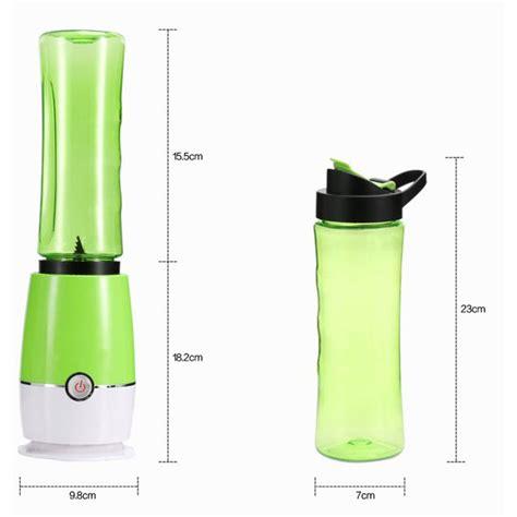 Blender Buah Portable 2 In 1 Juicer Mini 500ml Berkualitas blender buah dobule cup portable 2 in 1 500ml blue