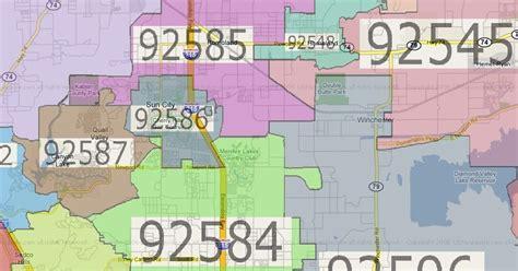 california zip code menifee ca zip code map menifee 24 7