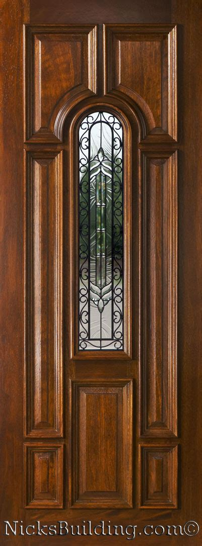 8 Foot Exterior Doors Mahogany Exterior Single Doors In 8ft Height