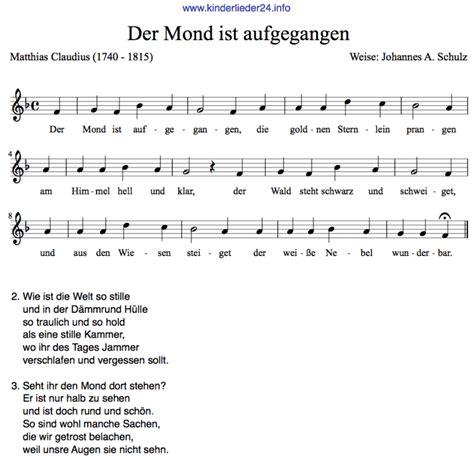 schlaf lied schlaflieder text