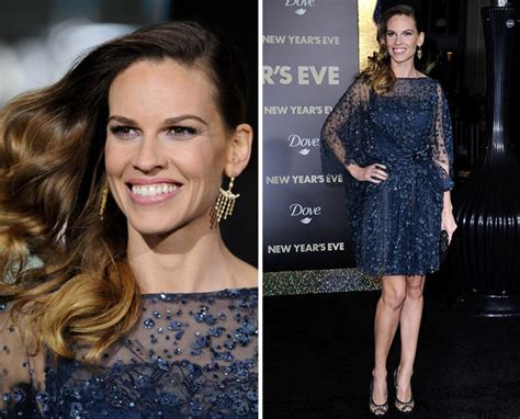 Yay Or Nay Hilary Swank At Ps I You Premiere In Lhuillier yay or nay hilary swank s carpet style
