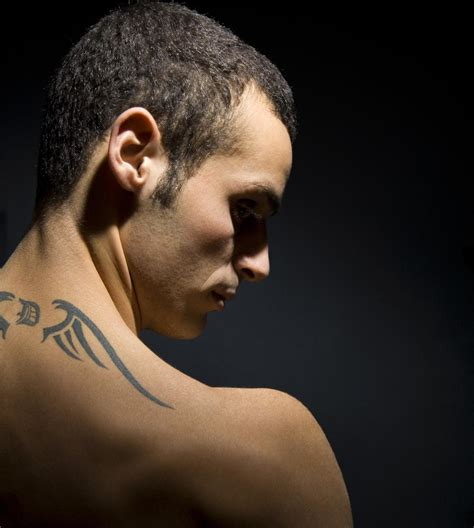 back of neck tattoos pain wondering if back of the neck tattoos are think