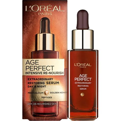 Loreal Extraordinary Serum Rambut l oreal age intensive re nourish serum 30ml