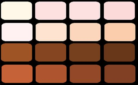 palette painting highlights color palette skin highlights shadows by holly