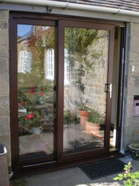 Patio Doors Upvc Upvc Sliding Patio Doors Mahogany Brand New High Quality Ebay