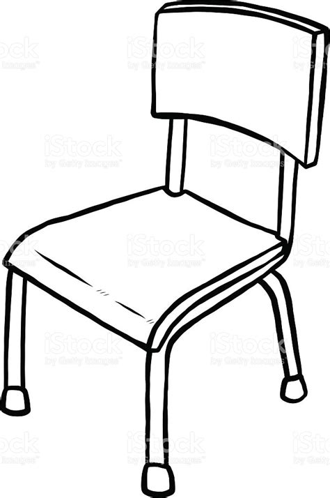 Chair Illustration by Classroom Chair Stock Vector 468492662 Istock