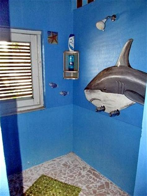 shark bathroom the fam at salt cay picture of pirates hideaway guest