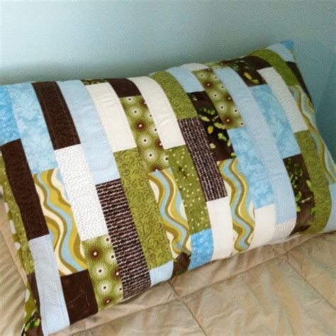 How To Make A Quilted Pillow Sham by Quilted Pillow Sham Quilting Embriodery