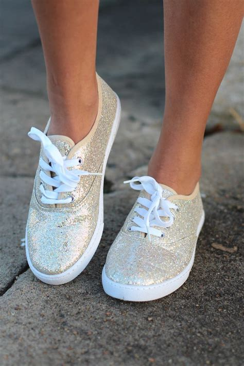 diy gold glitter shoes favorite sneakers gold glitter boutique shoes the
