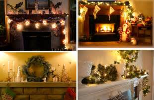 Fireplace Decoration Ideas 33 mantel christmas decorations ideas digsdigs