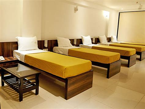 Pictures Of Dining Rooms dormitory 6 bed ac hotel g square shirdi