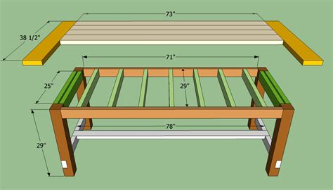 kitchen table plans farmhouse table plans to build how to build a farmhouse table howtospecialist how to build