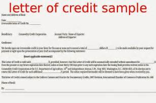 Standby Letter Of Credit Trade Finance Letter Of Credit Sle Standby Letter Of Credit Exle Docoments Ojazlink Letter Of Credit