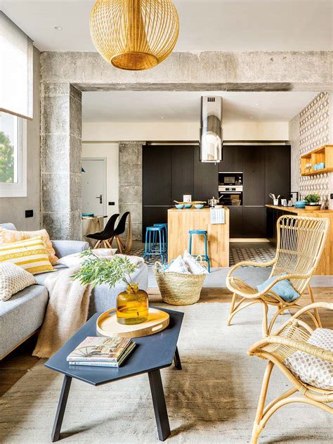 the spanish appartment inspiring spanish apartment features raw industrial details